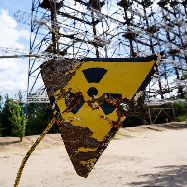 segnale radioattività